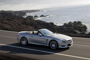 The new 500bhp+ Mercedes-Benz SL 63 AMG, unparalleled dynamism.