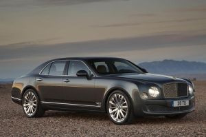 The Bentley Mulsanne Mulliner Driving Specification, the sporting version of Bentleys flagship