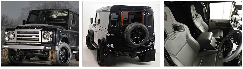 The luxury Limited Edition Land Rover Defender from Prindiville Design