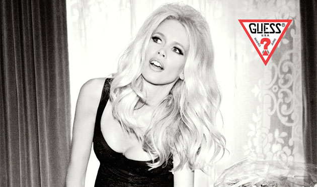 GUESS Unveils the 30th Anniversary Advertising Campaign Starring Claudia.