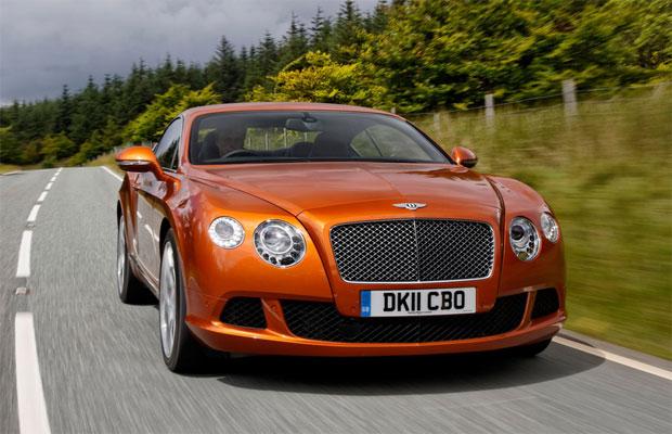The Bentley Continental GT receives the Motor Klassik Award for 2012