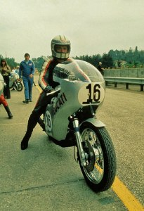 Ducati will celebrate the 40th Anniversary of the 1972 Imola 200 victory by Paul Smart.