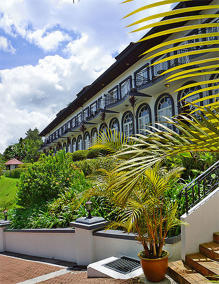 Our visit to the Cameron Highlands Resort.