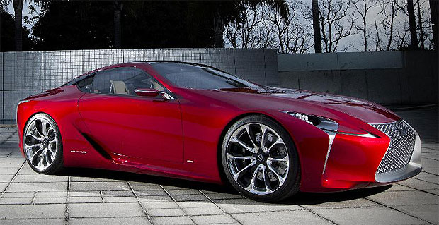 The Lexus LF-LC concept car was the people favourite at the Chicao Auto Show.