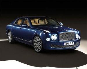 Bentley Motors's advanced multimedia Mulsanne Executive Interior Concept.