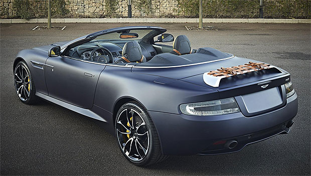 Aston Martin celebrates the 5th anniversary of its independence at Geneva 2012.