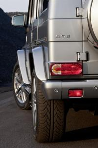 The new Mercedes-Benz G63 AMG, 37 HP more than the G55 AMG Kompressor. 8