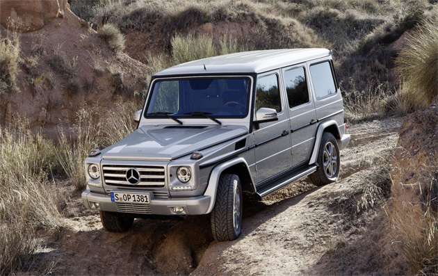 The latest incarnation of the Mercedes-Benz G Class - Forever Young. 4