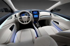 Infinit LE Concept, a vision of zero emission luxury is revealed in New York. 6
