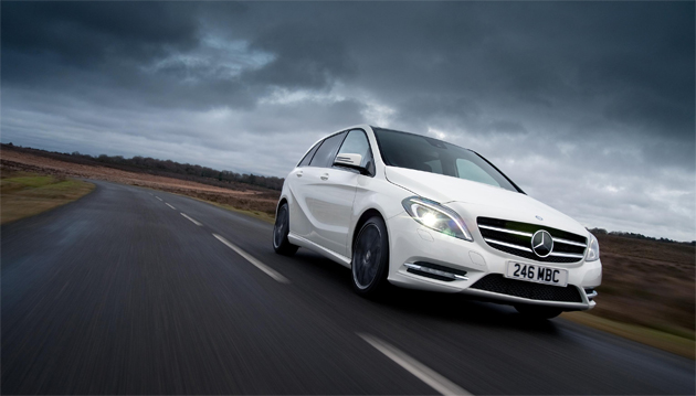 Global ecomomic concerns doesn't stop Mercedes-Benz from record breaking UK vehicle orders.
