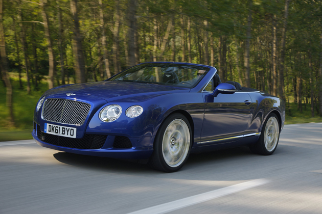 The Bentley Continental GTC 6.0 Litre W12, Sensuous, luxurious and hand-crafted.