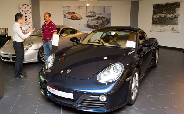 Sime Darby Auto Performance established Porsche Approved Pre-Owned Car Division. 2