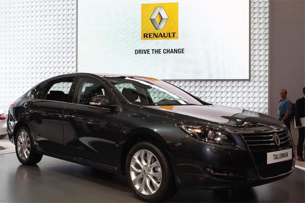 Renault unveils Talisman Luxury Saloon at Beijing Motor Show. 3