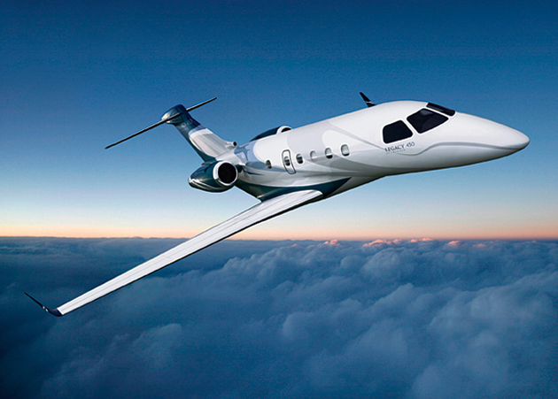 Embraer Legacy 450 and Legacy 500 Jet Programs Advance.