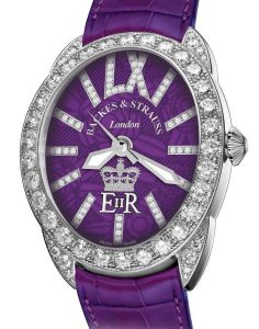 Backes & Strauss of London present their Diamond Jubilee Regent Watch Collection.