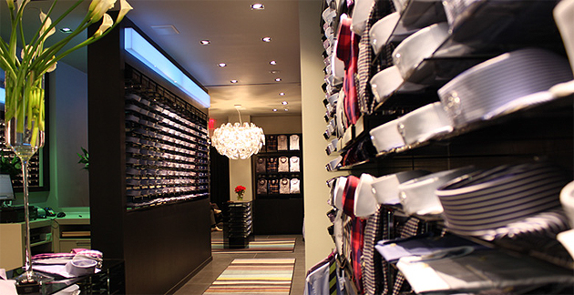 Eton to open its first brand store in Stockholm, Sweden.
