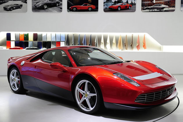 Eric Claptons Ferrari SP12 EC, an homage to the musicians long lasting love of Ferrari Cars.