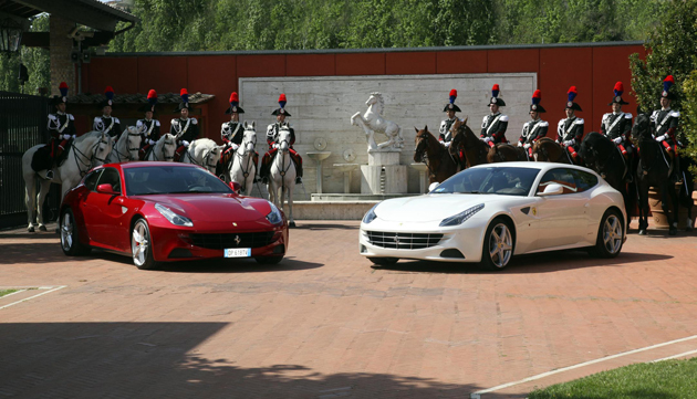 Ferrari and the Mounter Carabinieri Regiment will be supporting the Diamond Jubilee Celebration.