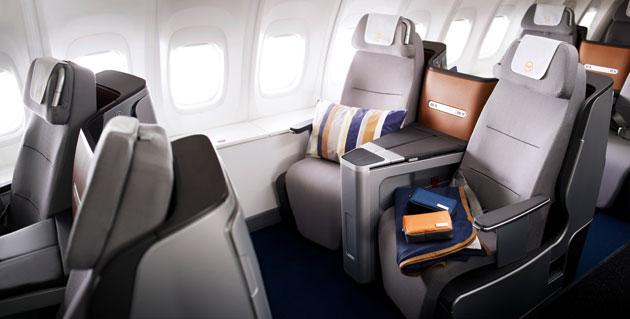 First Lufthansa Scheduled Flight With New Business Class