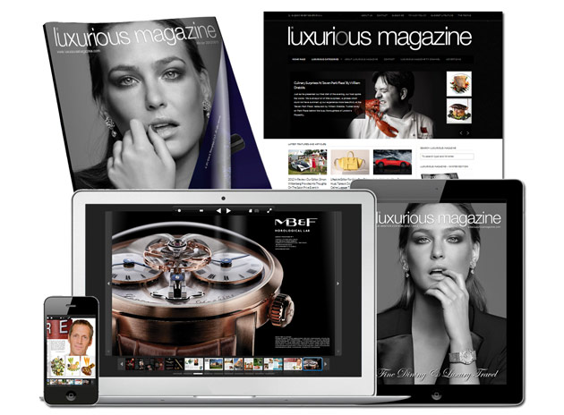 Luxurious Magazine - utilising the internet and social media