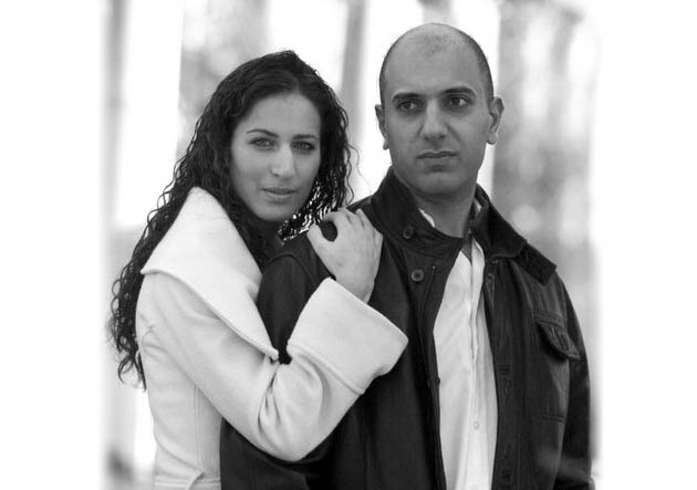 Self-taught designer Daniella, and her partner Monty Sassoon, the founders of Morella Sassoon.