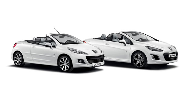 Peugeot serve up two highly-specified Roland Garros Special Edition Coupé Cabriolet cars.
