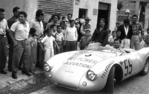 The Porsche Museum participates in the Mille Miglia once again.
