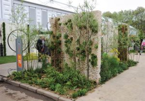 The Renault Garden at the RHS Chelsea Flower Show in London wins a Silver Gilt Award.