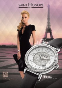 Saint Honore unveil a new advertising campaign capturing the essence of Paris.