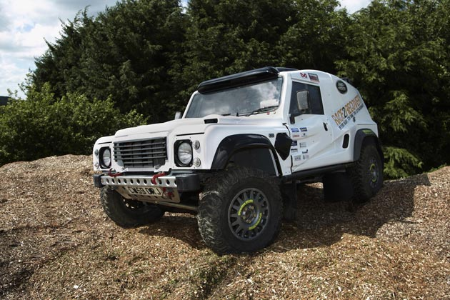 Land Rover will be supporting the wounded soldiers' Race2Recovery Dakar Rally Dream.