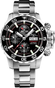 The new Engineer Hydrocarbon NEDU from Ball Watch with a helium release valve incorporated into the crown.