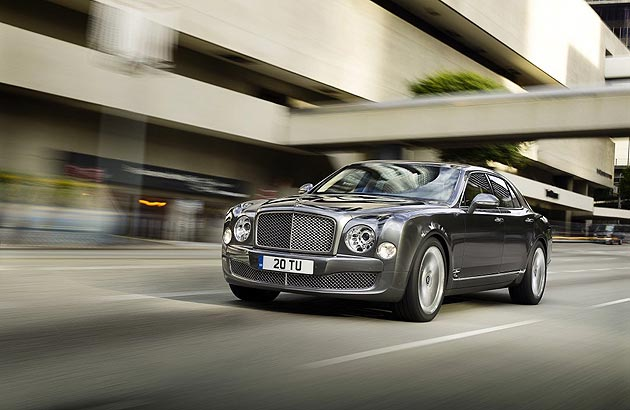 The Bentley Mulsanne Mulliner Driving Specification