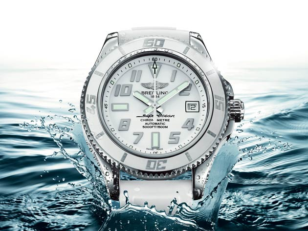 Breitling introduces the Superocean 42 White Water entirely clad in white.