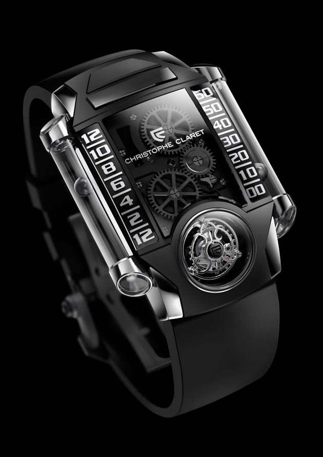 A Luxurious look at the Christophe Claret X-Trem-1, a limited edition of eight pieces.