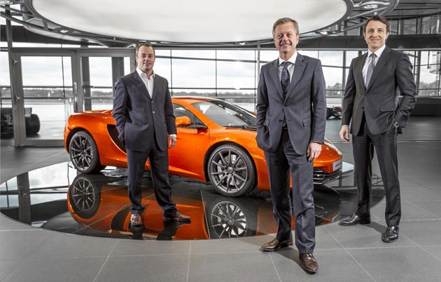 McLaren Automotive and Autobritt Grand-Pré SA to open new McLaren Showroom in Geneva.