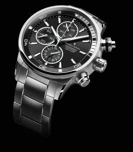 The Maurice Lacroix Ponto S divers chronograph wrist watch.