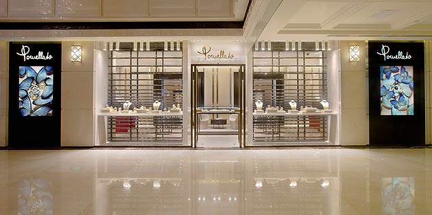 Pomellato, the Milan based jewellery company has opened its second Chinese boutique in Shanghai.