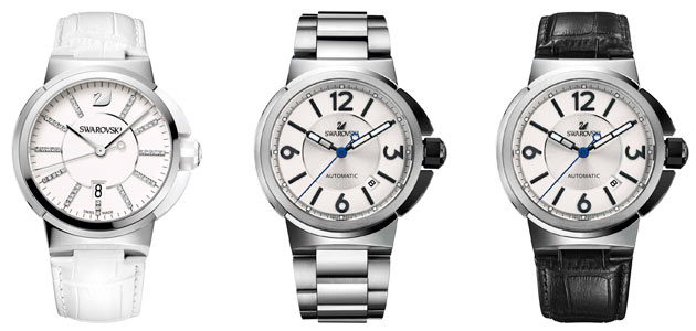 """The Swarovski Piazza Grande for men is inspired by the bestselling """"Piazza"""", which was introduced when the first Swarovski watch collection was launched at Baselworld 2009."""