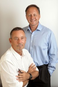Two of the UK's leading cosmetic surgeons Norman Waterhouse and Richard Young
