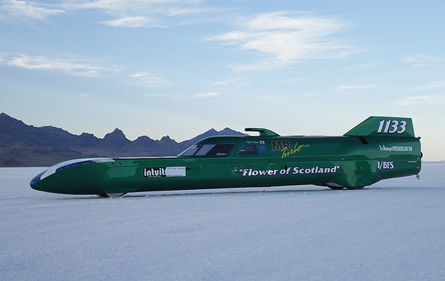 British racing driver, Rick Pearson and the Flower of Scotland will begin their World Land Speed record title tilt next month.