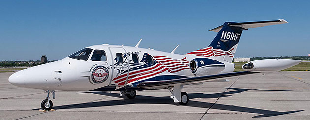 """Eclipse Aerospace Unveils The Veterans Airlift Command's """"Hero's Total Eclipse"""""""
