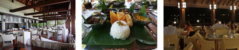 Dining at Pangkor Laut whether formal or less formal is an absolute pleasure