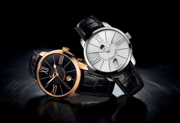 Honoring the moon's majesty is the new Ulysse Nardin Classico Luna for men and women.