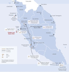 Getting to Pangkor Laut
