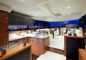 The Prestige 550 Motor Yacht, Distinctive, Elegant and Enhanced Comfort.