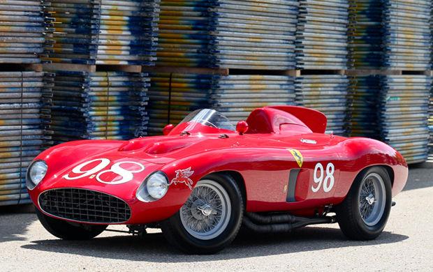 The 1955 Ferrari 857 Sport