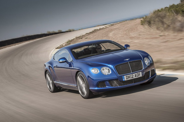 As Bentley's new performance flagship, the Continental GT Speed coupe appeals to driving enthusiasts who place a high value on outright performance and agile handling. The GT Speed's 205 mph (329 km/h) top speed and 0-60 mph sprint time of just 4.0 seconds put it at the very top end of automotive performance, yet the new model retains the peerless craftsmanship and contemporary luxury associated with Bentley cars.