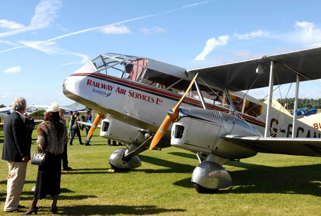 With just two weeks to go until the 2012 Goodwood Revival (14-16 September) gets underway, the nostalgic appeal of the world's most authentic historic motor race meeting is set to continue with a huge variety of rare aircraft to complement the motor racing on terra firma.