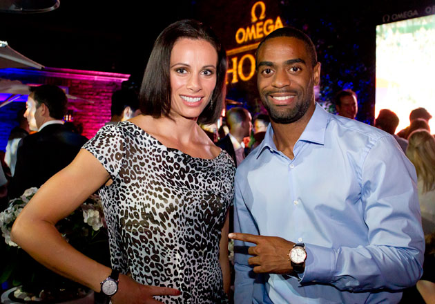 Olympic stars and OMEGA brand ambassadors heptathlete Jessica Ennis, pole vaulter Jenn Suhr and sprinter Tyson Gay spent time at the OMEGA House on Wednesday to answer questions on their Olympic experience and what awaits them down the track.