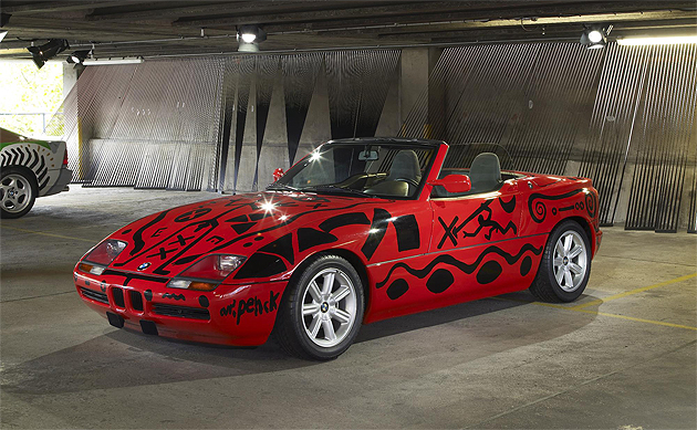 Last Chance to see Art Drive! The BMW Art Car Collection 1975-2012 in London.